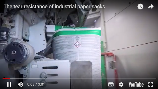 VIDEOS: The tear resistance of industrial paper sacks